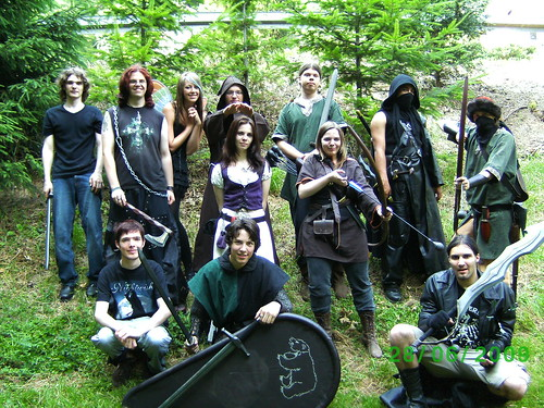 LARP Life Action Role Playing