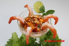 Exotischer Shrimpscocktail (thaieyes) Tags: cooking essen mango recipes shrimps rezepte kochen lecker rezept
