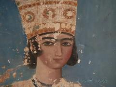 Fresque du Jardin Fin  Kashan (LEOVAL+) Tags: iran peinture kashan leoval fresque perse fingarden