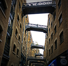 Shad Thames (edwardkb) Tags: city england london history yard docks towerbridge canon europe ships sigma historical 1020mm southwark shadthames butlerswharf cardamombuilding