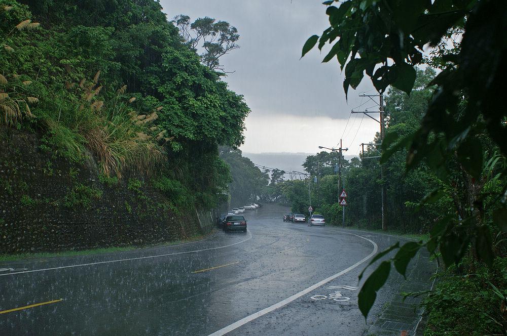 大崙頭尾120 暴雨