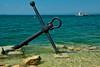 Lake Garda Anchor view (david.nikonvscanon) Tags: italy lake holiday june ferry garda view anchor 2009