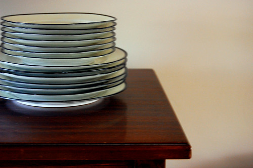 stack of china