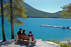 (sandra9871) Tags: alberta banffnationalpark lakeminnewanka canadianrockies