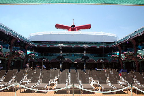Lido Deck and Whale Tail (Carnival Splendor)