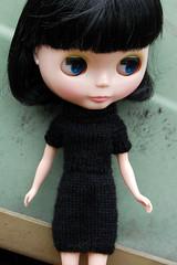 Black dress on Daisy