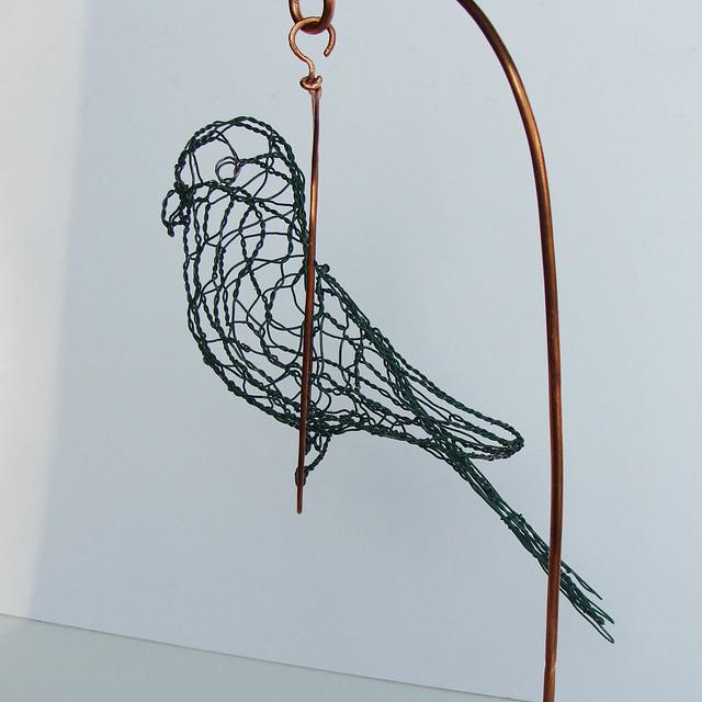 Wire Sculpture 金属线雕塑 - 碌碡画报 - 碌碡画报