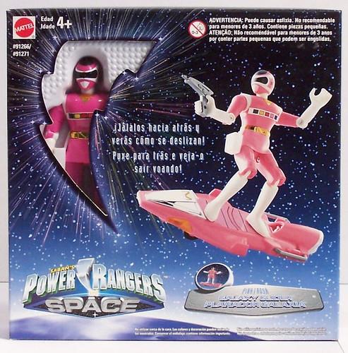 Power Rangers in Space Pink Ranger Galaxy Glider