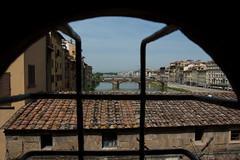 Arno from the Uffizi (hic sunt dracones) Tags: italy florence uffizi pontevecchio