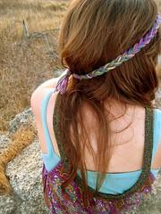 Turn your back on me (alexisjeanette) Tags: texture hair morninglight back longhair yarn turnyourback freckle braidedheadband