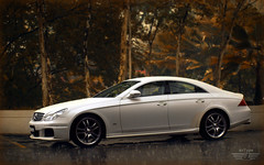 CLS (anType) Tags: white sports car sedan mercedes benz asia malaysia mercedesbenz kualalumpur executive saloon luxury amg cls brabus clsclass c219