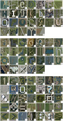Google Earth alphabet - The Netherlands (Thomas de Bruin) Tags: holland netherlands typography letters numbers alphabet googleearth punctuation capitals uppercase lowercase