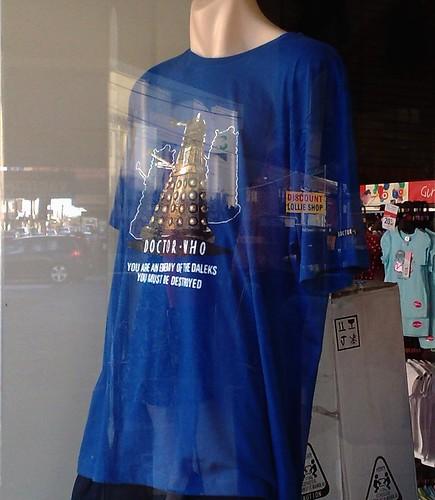 Dalek t-shirt in Target