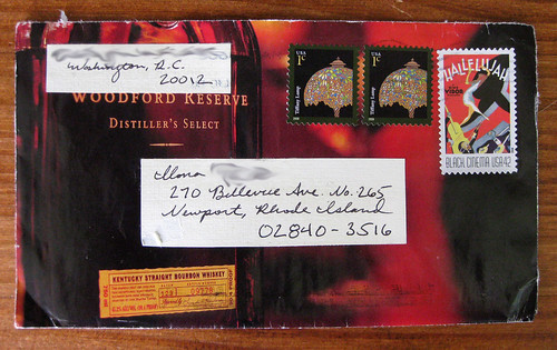 Bourbon envelope