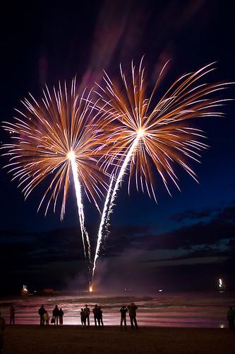 Fireworks at Scheveningen 2009