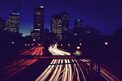 drink (drunk) Driving (Shannon Tj) Tags: longexposure 35mm highway cityscape nightshot sydney australia botanicalgarden speeding bac rta lighttrail drinkdriving rbt roadaccident nikond40 nonell f18g