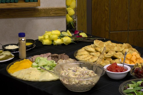 Wedding Catering: Sandwiches and Salads