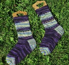 Patchwork Socks