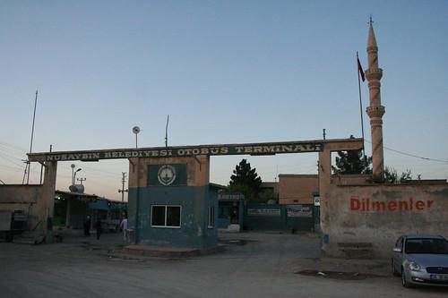 Estação dos autocarros em Nusaybin