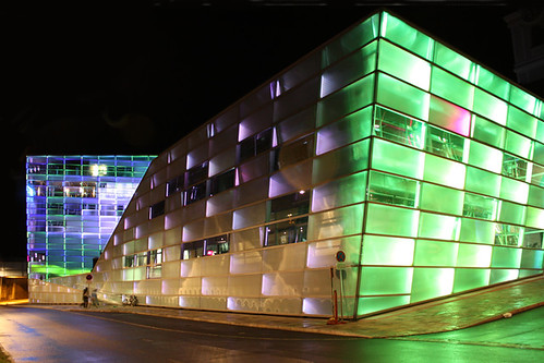 Ars Electronica Center, Linz, Austria. Photo: Bruce Charlesworth