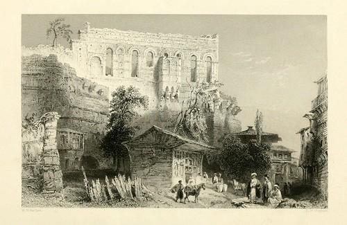 020- Palacio de Belisarius-Las bellezas del Bosforo 1838-W.H. Bartlett