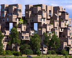 Habitat 67 (Mary Susan Smith) Tags: building architecture downtown montreal superhero moshesafdie expo67 twothumbsup bigmomma gamewinner challengeyouwinner 3waychallengewinner cychallengewinner achallengeforyou thechallengefactory tcfwinner thumbsupchallengeswinner herowinner storybookwinner pregamewinner