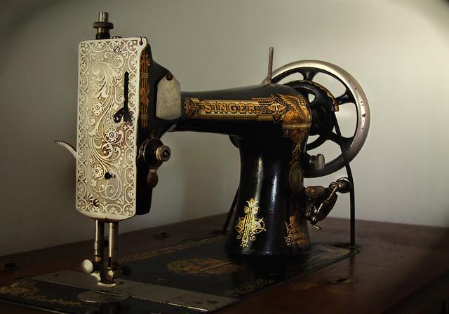 vintage sewing machines group