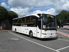 7887 RG 11, Torquay Coach Station, 30/07/09 (aecregent) Tags: mercedes tourismo coachstation carpostal 300709 7887rg11