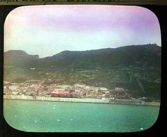 Approaching Gibraltar (The Field Museum Library) Tags: africa expedition mammals gibraltar zoology 1896 carlakeley specimencollection dgelliot