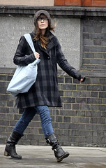 These Boots Were made for ______ (kinso 3) Tags: england london glasses hoodie jeans blackboots blackcoat graycoat