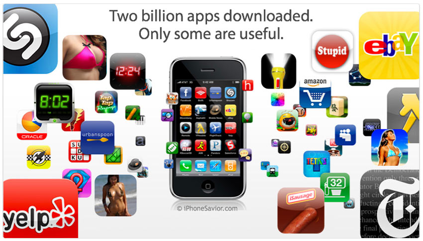 Two Billion Apps Downloaded
