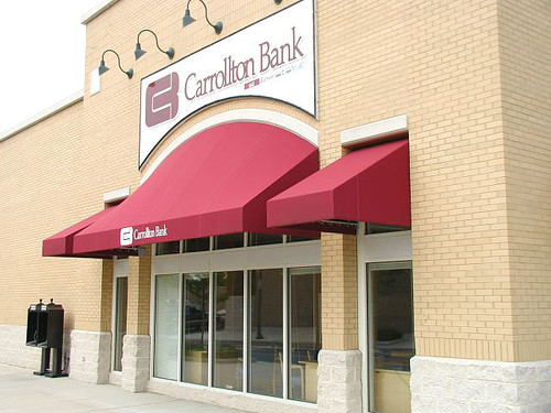 Carrollton Bank Awning