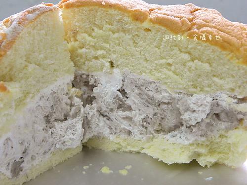 南投萊緹蛋糕芋頭波士頓派芋泥仔細看0