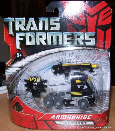 Armorhide Movie-2007  Scout Transformers 001