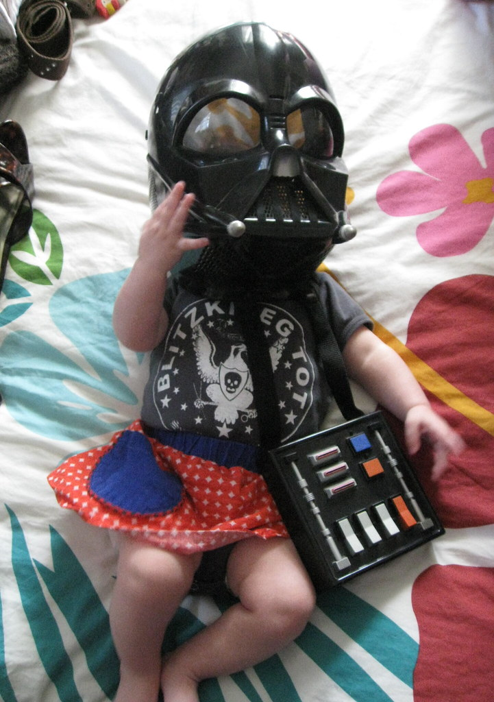 Darth Vader as a baby