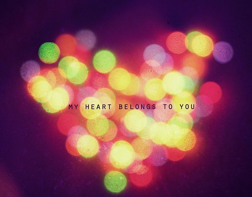 my heart belongs to you by .neha.