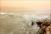 (Brigitte Marlot) Tags: ocean morning sea woman beach water seaside sydney australia sandstorm swimmer bronte