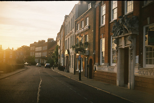 Wisbech captured on vintage halina super 35x