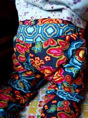 fall pants pair one (joontoons) Tags: flowers cord clothing toddler pants handmade sewing dancefloor gardenparty annamariahorner joontoons