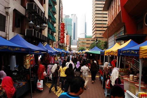 Behind Jalan Tuanku Abdul Rahman (Jln TAR)