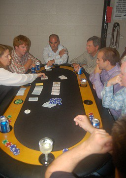 "No Limit Texas Hold'Em Poker Table • <a style=""font-size:0.8em;"" href=""http://www.flickr.com/photos/34758597@N04/4044150295/"" target=""_blank"">View on Flickr</a>"