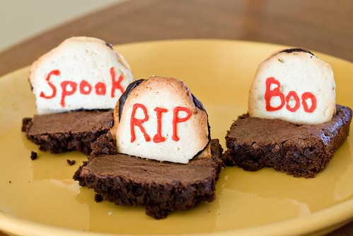 Tombstone Brownies - 10