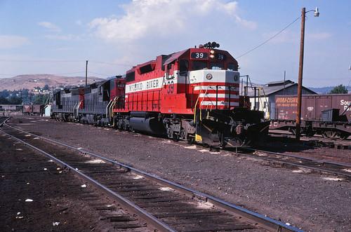 Mccloud River Railroad. McCloud River Railroad SD-38-2