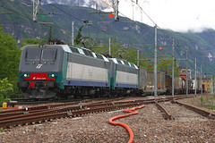 E.405.039 (marvin 345) Tags: railroad italy train merci rail 405 trento locomotive railways treno trentino fs brennero elettrico trenitalia ferrovia motrice e405