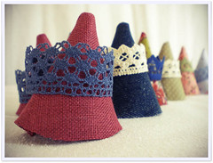 Crowned (Cozy Memories) Tags: sewing crafts wip cozymemories rollip
