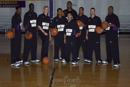 09-10 MVA Basketball Team