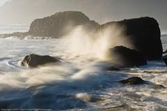 A little wave action (dedge555) Tags: sunset nikon oregoncoast nikkor ecolastatepark 2470mm d700 nikond700 2470mmf28g afsnikkor2470mmf28ged varinduo