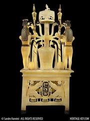 The Alabaster Perfume Vase - The Rear View (Sandro Vannini) Tags: art archaeology photography video kingtut egypt artefact calcite tutankhamun egyptology hapy egyptians unguents kv62 heritagekey sandrovannini alabasterperfumevase perfumedfats