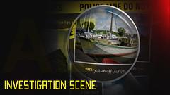 Investigation scene