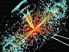 Decaimiento de partícula Higgs